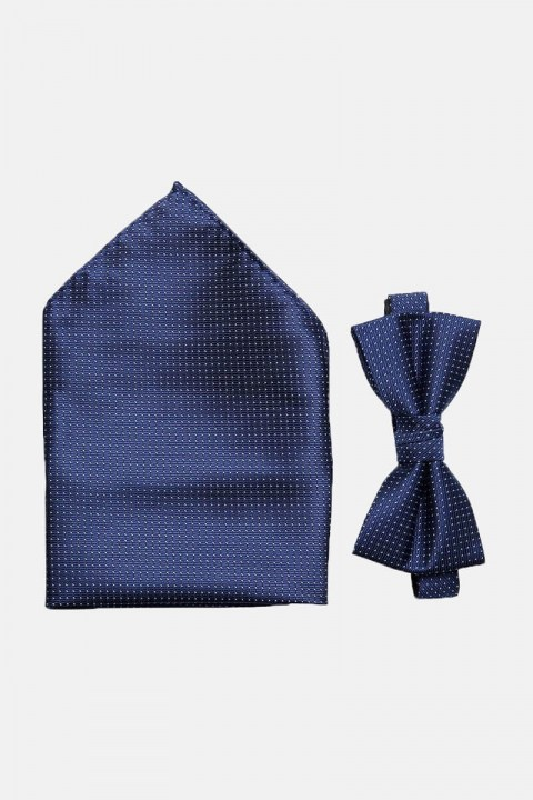 Selected ShdWilly Basic Butterfly/Tashentuch Box Navy Blazer Comb 4