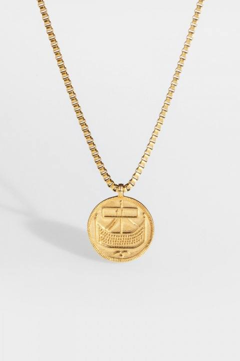 "Northern Legacy Saxon-Penny Halskette ""Gold"""