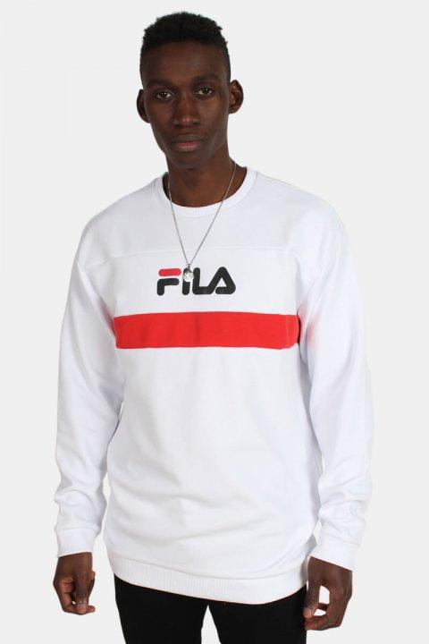 Fila Steven Crew Sweatshirts Bright White