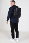 Still Nordic Frill Flap Pocket Backpack Black