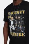 Mister Tee Naughty By NatUhre 90s T-shirt Black