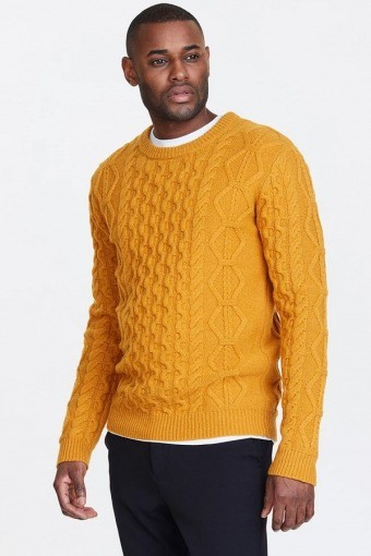 Pigalle Cable Stricken Yellow Sunflower