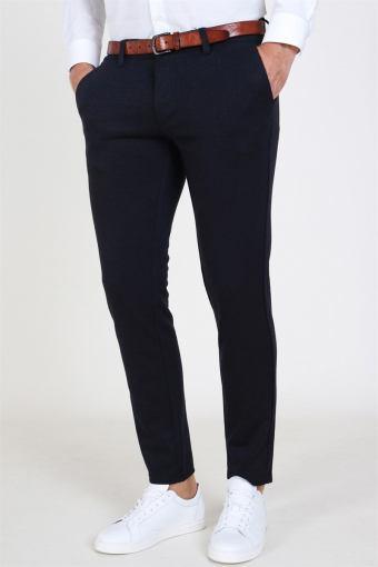 Mark Herringbone Pants Insignia Blue