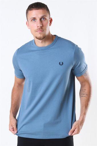 Ringer T-Shirt Blue Estate