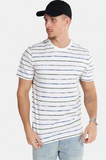 Leonard Stripe SS T-shirt White