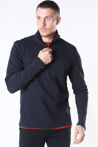 Tailored & Originals Theo LS Stricken Black