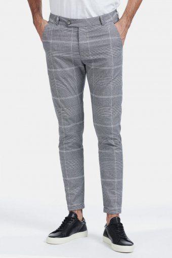 Lugano Suit Pants Grey/Black