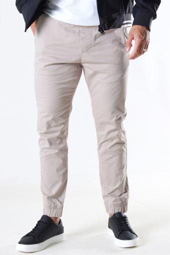 Slim-Truc Cuff Pants Simple Tau