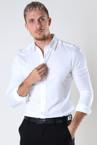 ONSMILES LS STRETCH Hemd Bright White