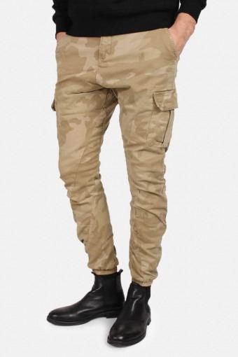 Uhrban Classics Tb1611 Camo Cargo Jogging Pants Sand Camo