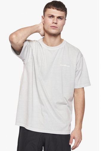 Boxy State Tee Light Grey