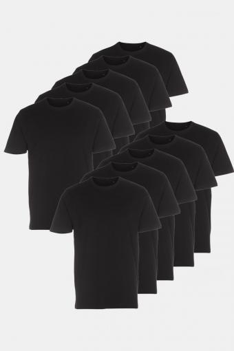 T-shirt 10-Pack Black