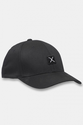 Clean Cut Logo Cap Black / Black