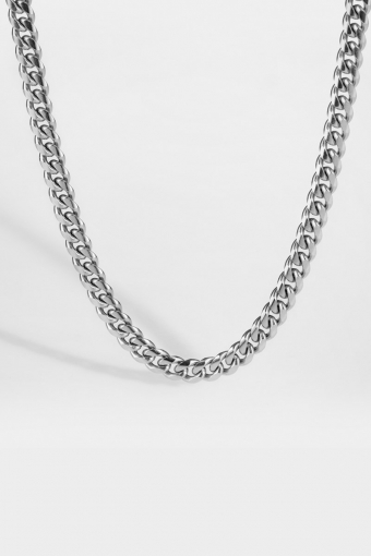 "Sequence Halskette ""Silver"""