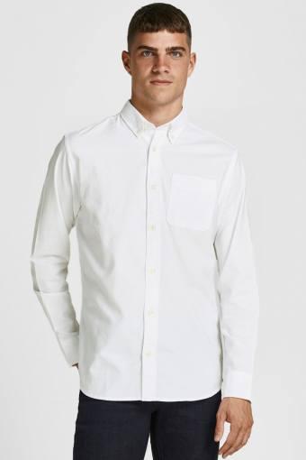 JPRBLUBROOK OXFORD Hemd L/S NOOS White SLIM FIT