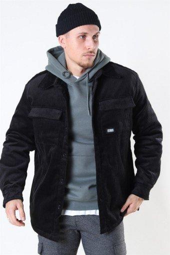Uhrban Classics Corduroy Skjorte Jakke Black