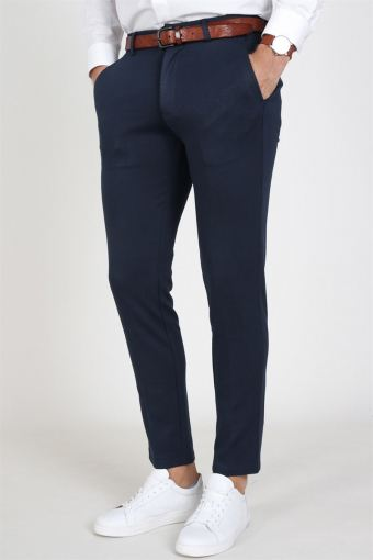 Marco Phil Jersey Pants Dark Navy
