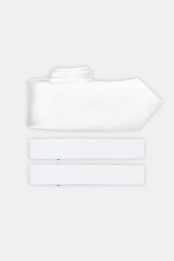 Krawatte & Armband White