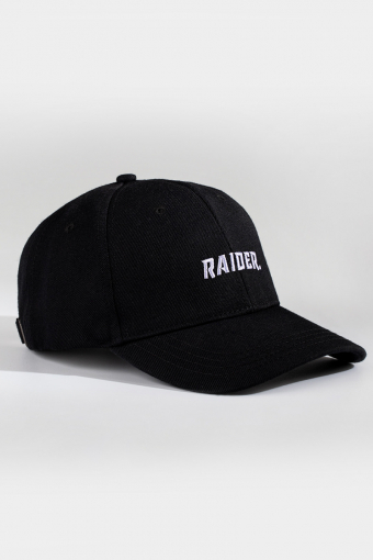 NL Raider Dad Cap Black/white