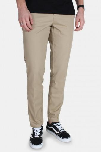 Work Pants Slim Fit Khaki