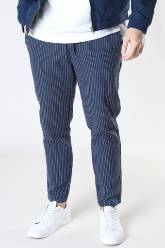 ONSLINUS LIFE CROP TAP PANT GW 9199 Dress Blues