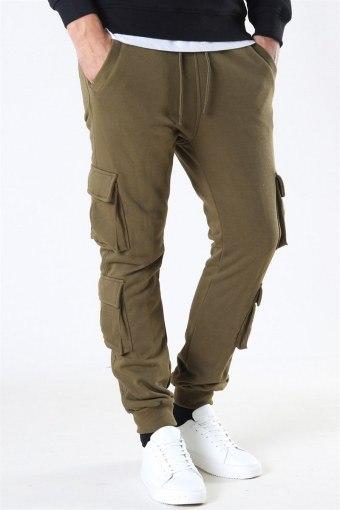 Uhrban Classics Double Pocket Terry Sweat Pants Summerolive