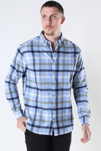 Johan check gr.40 shirt Light Blue