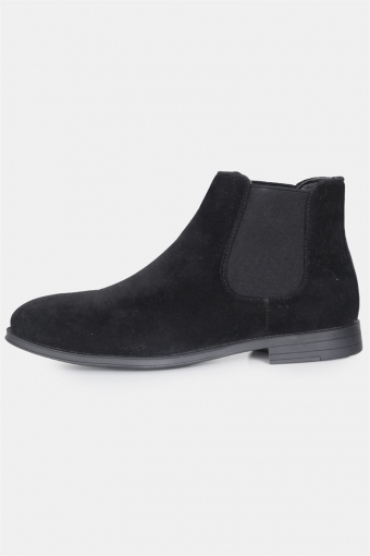 Chelsea Boots Suede Black
