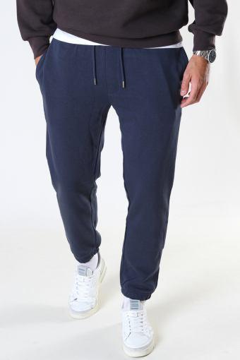 Basic Organic Pants Navy