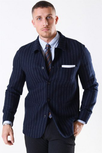 Jackson Tweed Pin Blazer Dark Blue