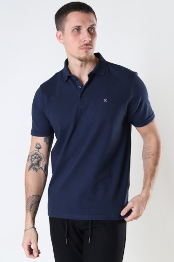 Silkeborg Stretch Polo Navy