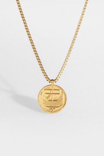"Saxon-Penny Halskette ""Gold"""