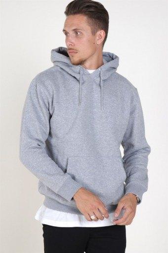 Soft Sweatshirts Hood Light Grey Melange