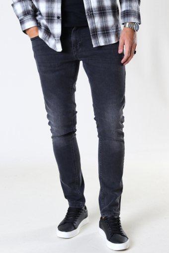 David Slim Stretch Jeans 5002 Dark Grey Denim