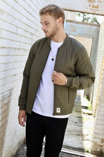 Lumber Recycle Jacke Army
