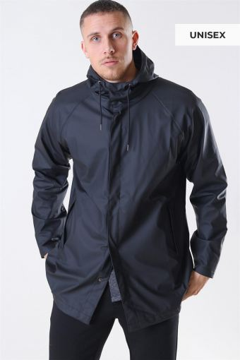 Short RegnJacke Black