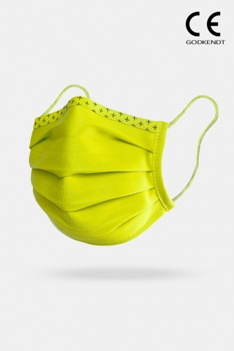 ISchuh Vital Supreme Line Face Cover Lime