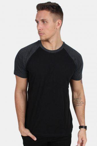 Uhrban Classics TB639 T-shirt Black/Charcoal