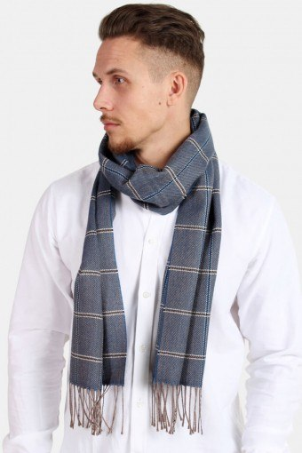 Schal Pedro Wool Mix Navy