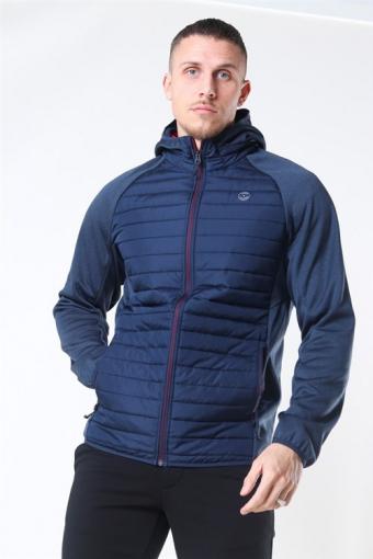 Multi Quilted Jacke Navy Blazer