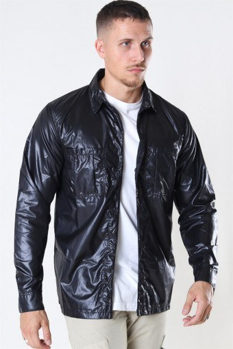 Parachute Overshirt Black