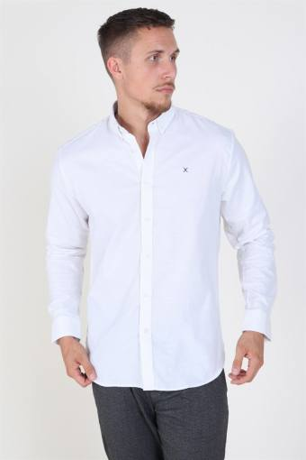 Clean Cut Oxford Plain Hemd White