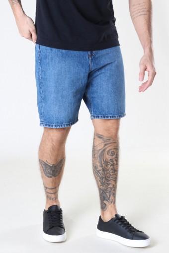 Classic Organic Dad Shorts 129 LIGHT WASH