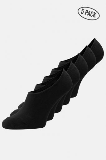 Basic Multi Invisible Strümpfe 5-Pack Black