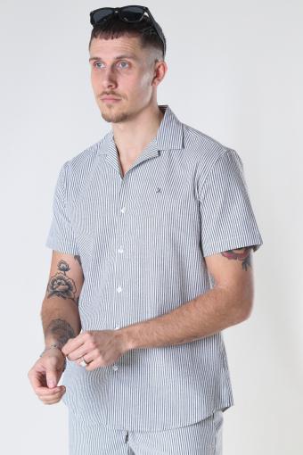 Bowling Otto S/S White / Grey
