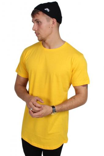 Uhrban Classics TB638 T-shirt Chrome Yellow