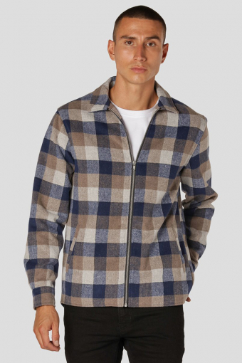 Dash Overshirt Navy/Grey