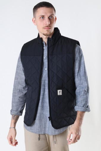 Jensen Recycled Vest Black
