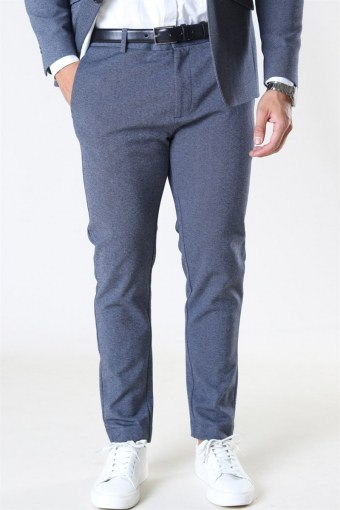 Clean Cut Milano Jersey Pants Denim Melange