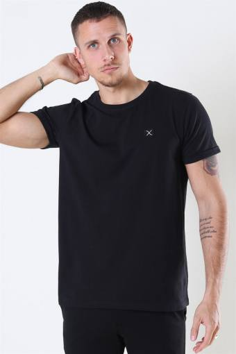 Clean Cut Basic Organic T-shirt Black